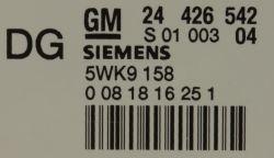 Teilenummer Opel Siemens