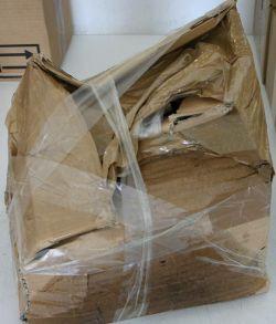 Unsachgemäße Verpackung