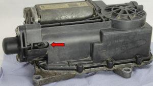 beschädigter Hydraulikanschluss Durashift