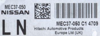 Teilenummer Nissan Hitachi