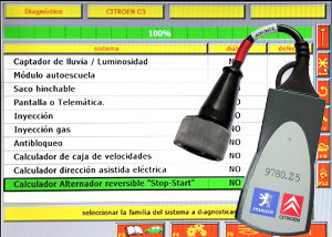 Citroen equipo diagnostico Lexia 3