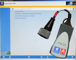 Peugeot equipo diagnostico Planet 2000