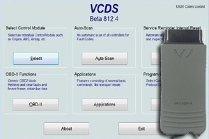 dispositivo diagnóstico VAG-Com (software VCDS; adaptor VAS)